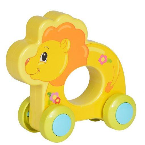 Simba Toys ABC - Guruló, vidám állat babáknak - oroszlán (104010199)
