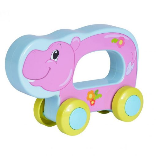 Simba Toys ABC - Guruló, vidám állat babáknak - víziló (104010199)