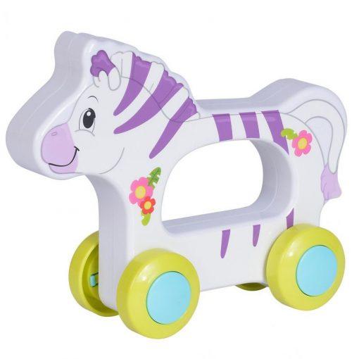 Simba Toys ABC - Guruló, vidám állat babáknak - zebra (104010199)