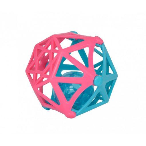 Simba Toys ABC - Puha, csörgő labda babáknak - pink-kék (104012045)
