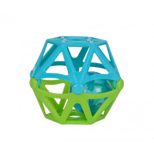 Simba Toys ABC - Puha, csörgő labda babáknak - zöld-kék (104012045)