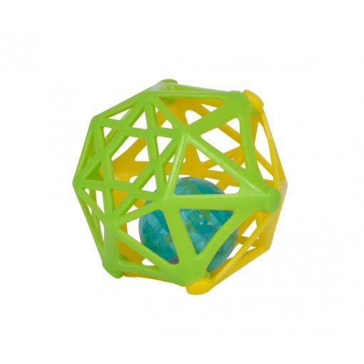 Simba Toys ABC - Puha, csörgő labda babáknak - zöld-sárga (104012045)