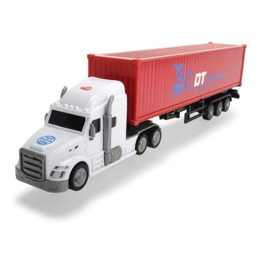 Dickie Toys City - Konténerszállító kamion 42cm (203747001)