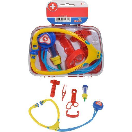Simba Toys Doctor - 7 részes játék orvosi táska reflex-kalapáccsal (105545260)