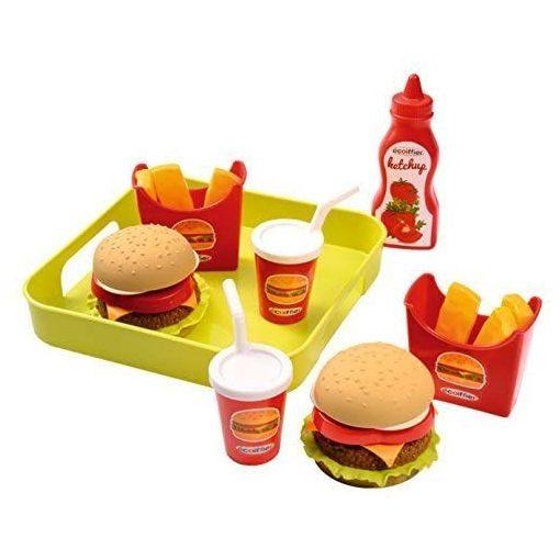 Écoiffier 100% Chef 0957 Játék hamburgeres tálca