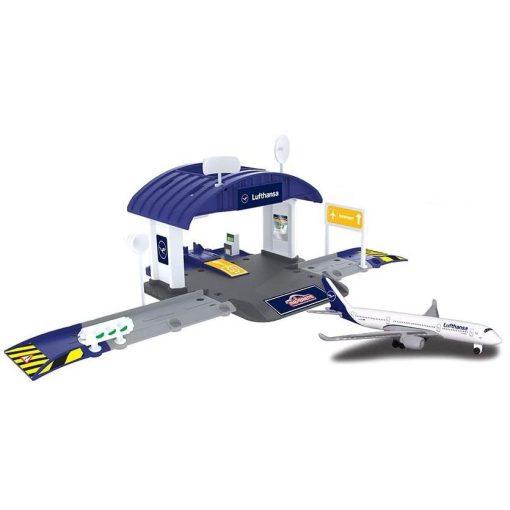 Majorette Creatix - Reptéri hangár repülővel (212050017038)