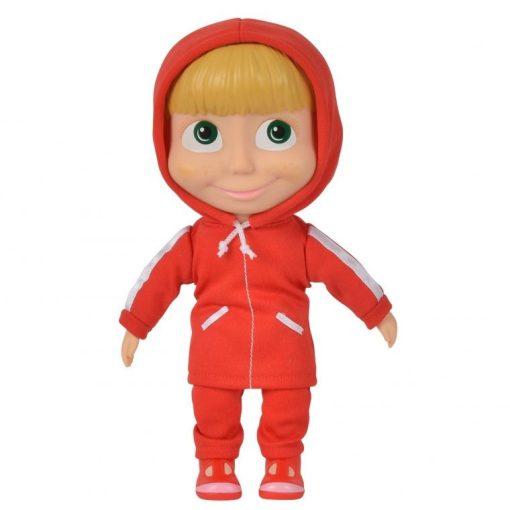 Simba Toys Mása és a medve - Mása baba piros ruhában (109301029)