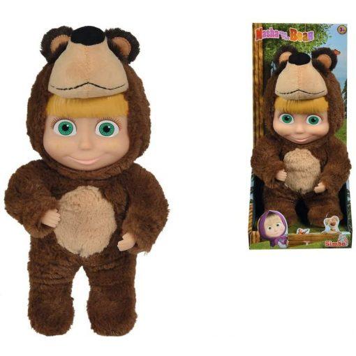 Simba Toys Mása és a medve - Mása baba maciruhában 25cm (109301064)