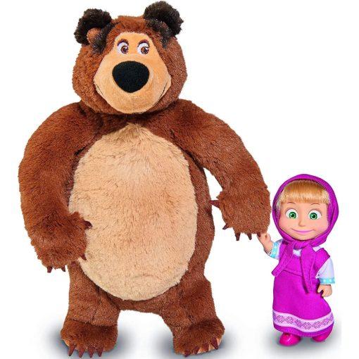Simba Toys Mása és a medve - Mása baba és plüss medve (109301072)