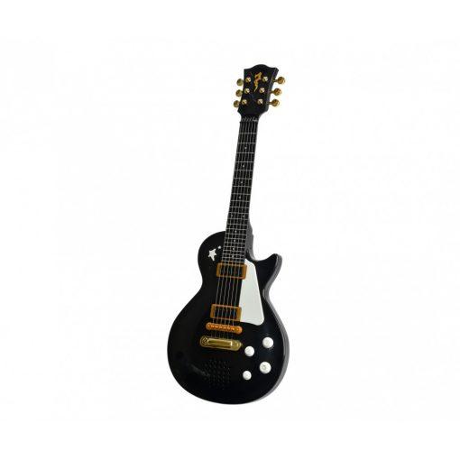 Simba Toys My Music World - Elektronikus játék rock gitár - fekete (106837110)
