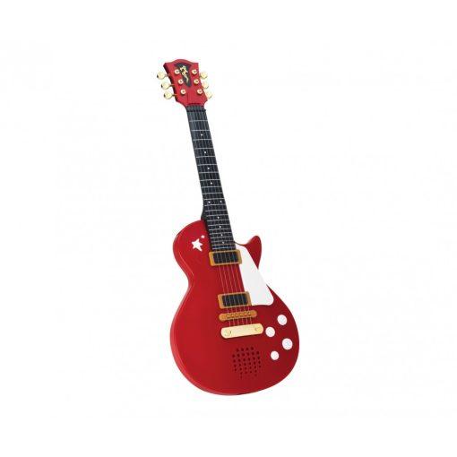 Simba Toys My Music World - Elektronikus játék rock gitár - piros (106837110)