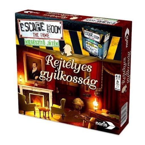 Noris Escape Room - Rejtélyes gyilkosság kiegészítő játék (606101617006)