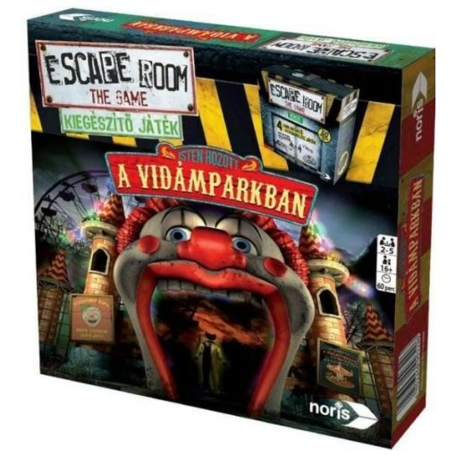 Noris Escape Room - Isten hozott a vidámparkban kiegészítő játék (606101618006)