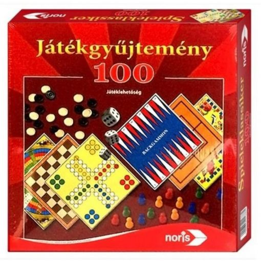 Noris - Játékgyűjtemény 100 játéklehetőséggel (606111686006)
