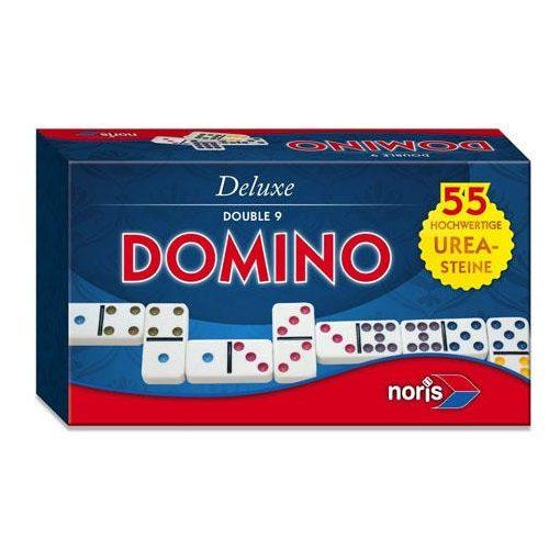 Noris Deluxe - Double 9 dominó (606108003)