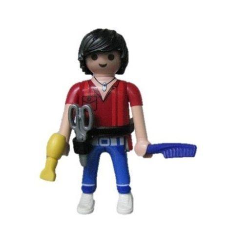 Playmobil 70159 Fodrász zsákbamacska figura 16. sorozat (fiúknak)