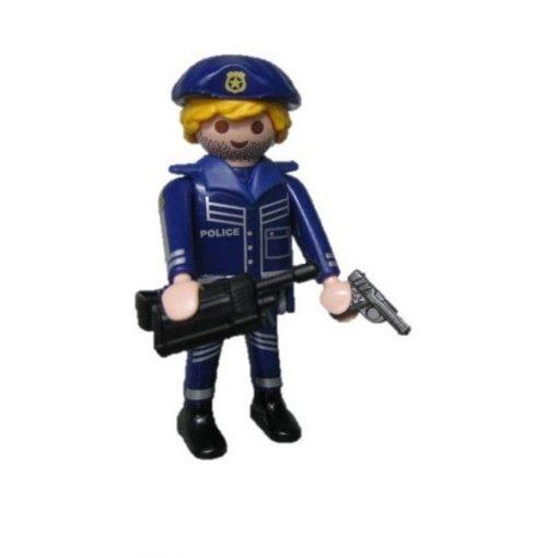 Playmobil 70159 Rendőr zsákbamacska figura 16. sorozat (fiúknak)