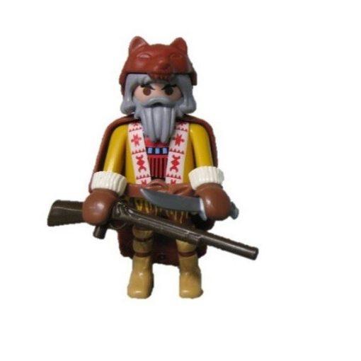 Playmobil 70159 Western vadász zsákbamacska figura 16. sorozat (fiúknak)