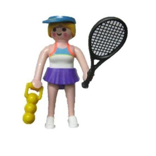 Playmobil 70160 Teniszező lány zsákbamacska figura 16. sorozat (lányoknak)
