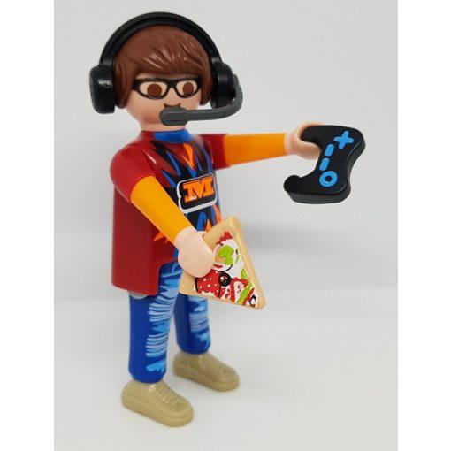 Playmobil 70242 Gamer zsákbamacska figura 17. sorozat (fiúknak)