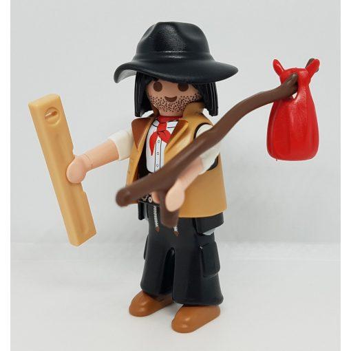 Playmobil 70242 Vándor zsákbamacska figura 17. sorozat (fiúknak)