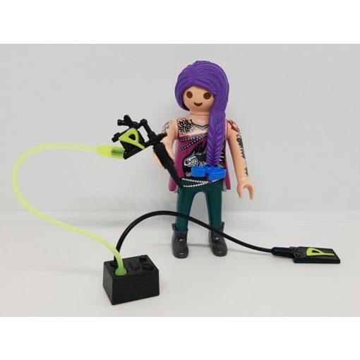 Playmobil 70243 Tetováló művész zsákbamacska figura 17. sorozat (lányoknak)