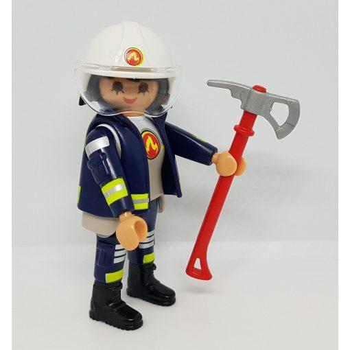 Playmobil 70243 Tűzoltó zsákbamacska figura 17. sorozat (lányoknak)