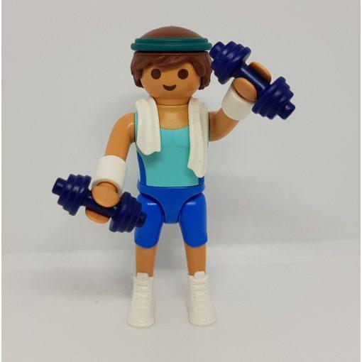 Playmobil 70369 Súlyemelő zsákbamacska figura 18. sorozat (fiúknak)