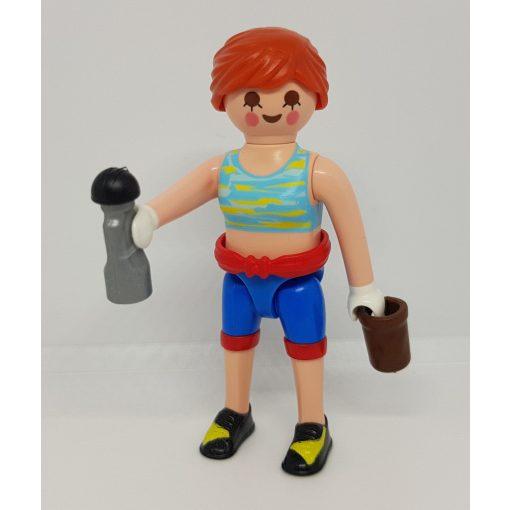 Playmobil 70370 Fitness lány zsákbamacska figura 18. sorozat (lányoknak)