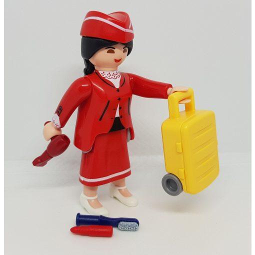 Playmobil 70370 Légiutas-kísérő zsákbamacska figura 18. sorozat (lányoknak)
