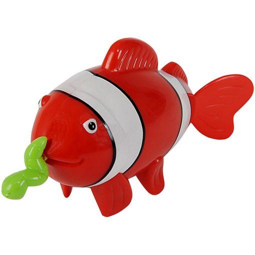 Simba Toys Water Fun - Felhúzható, úszó bohóchal fürdőjáték (107290244)