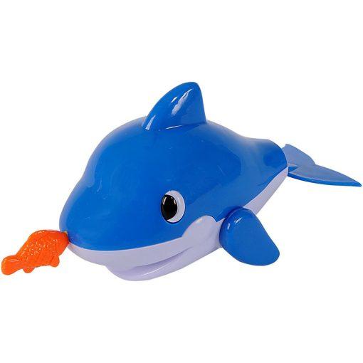 Simba Toys Water Fun - Felhúzható, úszó delfin fürdőjáték (107290244)