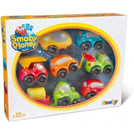 Smoby Vroom Planet 120217 Műanyag kisautó készlet