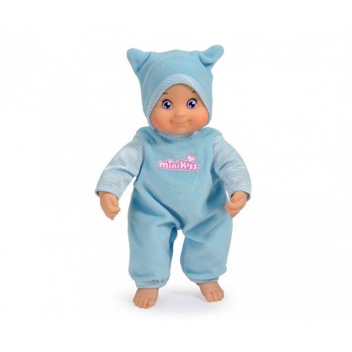 Smoby 210102 Minikiss, a puszit adó játékbaba 27cm - kék